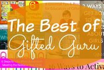 The Best of Gifted Guru / Articles on teaching and parenting the gifted. Book reviews. Tips. Strategies. Advice. Counsel. General cool stuff.