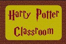 Harry Potter Classroom Ideas / Ideas for creating a Harry Potter-themed classroom.