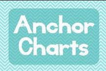 Anchor Charts / Anchor charts for the classroom. I don't even care if the links work because I can see it in the picture! Also, ideas for storage of anchor charts...