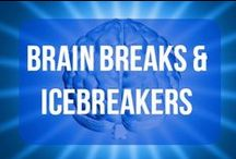 Brain Breaks and Icebreakers / Resources for brain breaks, transition times, and icebreaker activities