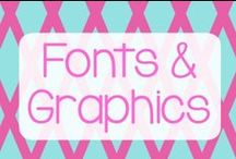 Fonts, Graphics and Design Love / I love fonts!!! Here I share great font ideas, design ideas, and places I get graphics.