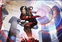 High-level fantasy / Una creciente colección de imágenes de fantasía para inspirar personajes con los que jugar D&D // A growing collection of fantasy imagery to inspire characters to play D&D with.