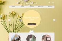 Clean User Interface - curated by Georgia Gibbs / Showcase of clean and visually engaging digital design.