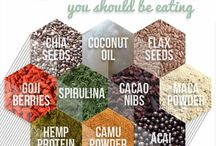 Superfood Goals / Superfoods, anti-inflammatory foods and ingredients for general good health and well-being that you should have in your pantry.