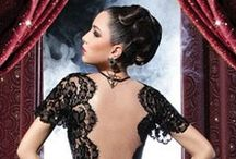 Lace / Lace lingerie, chemises, robes and nightgowns