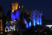 Tuscany Wedding Castle Ideas / There are many castles in the region of Tuscany and many can be rented daily as wedding venues. Here we have collected some of the most charming and romantic pictures to inspire brides interested an unique castle wedding in Tuscany!