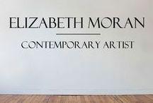 Elizabeth Moran - Contemporary Artist / Collection of inspiring art + home decor + Style guides www.lizmoranart.com