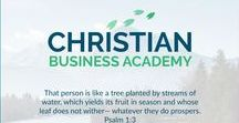 Christian Business Academy / Our mission is to help business owners, entrepreneurs and solo professionals become more profitable and purposeful and  use their business to fulfill their calling.