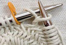 K N I T  + S E W / Knitting and crocheting