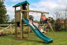 Garden Climbing Frames / Playdale Garden offer a fantastic range of high-quality climbing frames and swings. Which one is your favourite?
