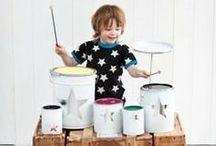 DIY - Faça você mesmo / Idéias de brincadeiras, moda, e decoração para fazer para os pequenos, ou até mesmo com eles!
