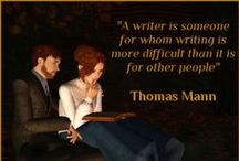 Reading/writing quotes / Words are writer's-block's worst enemy. Get inspired by these quotes.