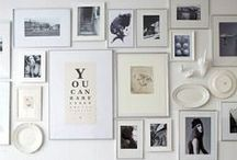 Wall decorations / If you're anything like me, you'll want your walls to reflect your tastes and personality. Say goodbye to boring, bare walls with all these great ideas.