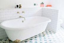 B A T H R O O M / Bathroom inspiration