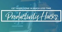 Productivity Hacks For Fampreneurs / Get more done in less time so you have greater results in your business without taking time away from those you love.