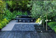 Garden, balcony, outdoors, landscapes, patios