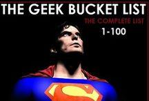 Gamer and geek stuffs