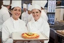 Foodie Cooking Classes at the CIA / Hey, food and wine lovers! If you love to cook or bake or are a budding wine connoisseur, you need to be at the CIA. You just might discover a culinary passion or talent you didn't even know you had! Join us in New York's bountiful Hudson Valley, California's incomparable Napa Valley, and the vibrant city of San Antonio in southern Texas. Get away from it all and do something you really love—cook!  / by The Culinary Institute of America