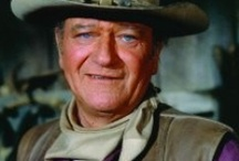 John Wayne / ONE TRUE AMERICAN !!!! / by Peggy Parris Fortune