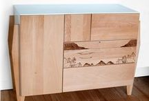 Universal furniture for your home / Simple, but inspiring furniture for your house or apartment.