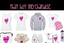 That Boy Merchandise / That Boy Merchandise, CafePress, Clothes, Purses, Fan Items / by Jillian Dodd