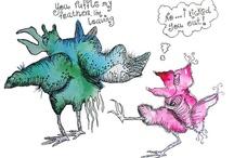 Cranky Birds