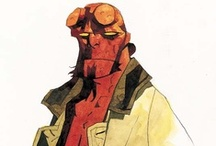 The art of Mike Mignola / by Dustin Glaseman