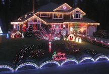 Christmas Lights / Christmas lights around the country / by Peggy Parris Fortune