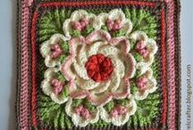 Crochet: Grannies / Pretty, fun and useful items to make with the beloved granny square and other motifs.
