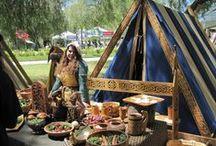 Larp camp inspiration / Sca, larp, viking/medieval/renaissance camping