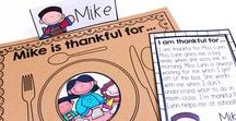 THANKSGIVING for Kids / Thanksgiving resources, ideas, freebies, and fun for kids and teachers!