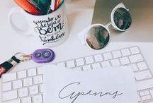 Mesa / Office / Fotos de mesa, escritório, inspiração, inspiration table.
