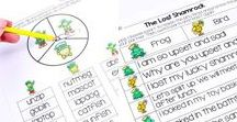 ST PATRICK'S DAY for Kids / Ideas, activities, freebies, and resources for St. Patrick's Day in the classroom