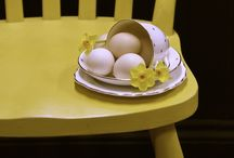 Yellow Makes me Happy / Ideas using yellow  for the home and garden.