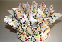Casa / Trapo de cocina bordado a punto de cruz. Es una forma de alegrar tu cocina con colorido. En mi blog te indico como realizarlo. Espero qu os guste / by Ruca, la casa de los complementos la casa de los complementos