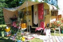 GLAMPING / by Debbie Bosworth