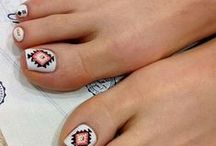 Pedicure Designs / Here are some amazing toenail designs I found!  / by Angela Hughes