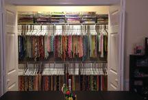 P&Q - Fabric Stash / by Soo Uu