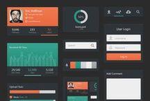 UI - Adminny / Collection of glorious admin UI design.
