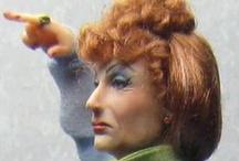 Sharon Cariola / миниатюрные куклы