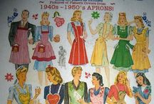 Apron Aprons Aprons / This board is for sharing my love of  handmade, vintage, modern day aprons.  / by Debbie Bosworth