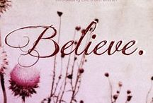 OLW 2014 / My word for 2014 is BELIEVE