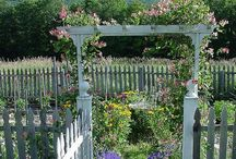 Arbors for the Garden / by Debbie Bosworth