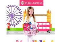 D for Diamond / Welkom in de wereld van D for Diamond.  D for Diamond biedt de meest schattige kindersieraden in zilver en 9 karaats goud maar wat D for Diamond onderscheidt van de andere kindersieraden is de kleine diamant die in elk sieraad schittert. Sieraden voor alle leeftijden van de geboorte tot in de eerste tienerjaren. De sieraden van D for Diamond kunnen elke dag gedragen worden. Het zijn mooie, lieve cadeautjes voor speciale gelegenheden zoals een geboorte, doop of verjaardag!