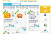 Theme: Halloween - English eBooks and Educational Resources / Here you'll find all the worksheets, videos, eBooks, exercises and vocabulary sets to make your next Halloween fun and educational.