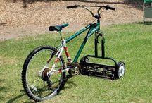 Iets met fiets / Aandrijving door fietsen