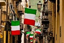 """il bel paese / """"Ben di senso è privo Chi ti conosce, Italia, e non t'adora.""""  Vincenzo Monti"""