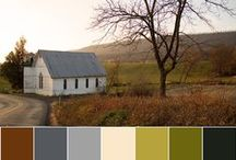 Color Palettes for Quilters / Color stories from photographs, turned into quilts.