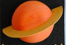Planets Birthday Party! / Ideas for Jadon's Planet Birthday party.  Also googled:  outer space, space, planets.  Some CUTE food and other ideas! / by Jenny Fast