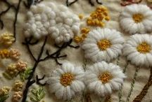 Embroidery and Hand Stitching / Stitches made by hand are so lovely!